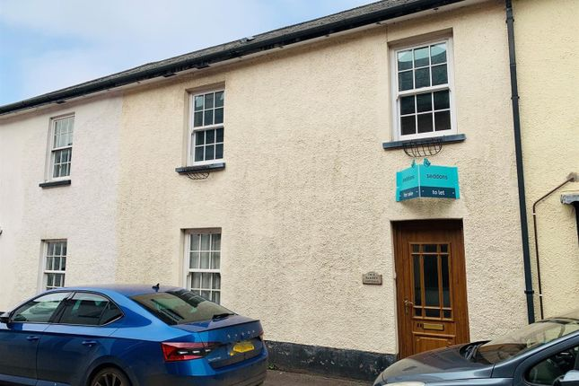 3 bed property to rent in West Street, Witheridge, Tiverton EX16