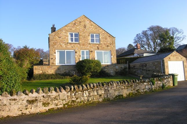 Thumbnail Detached house to rent in Sun Buildings, High Street, Rothbury, Morpeth