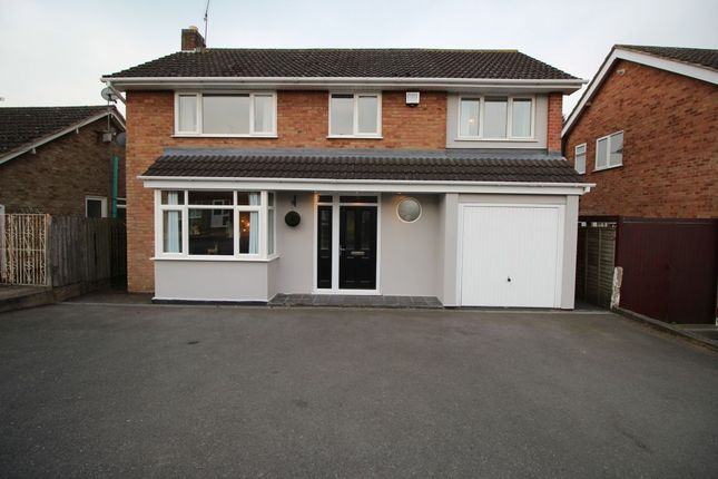 Thumbnail Detached house for sale in Trent Road, Bulkington, Bedworth
