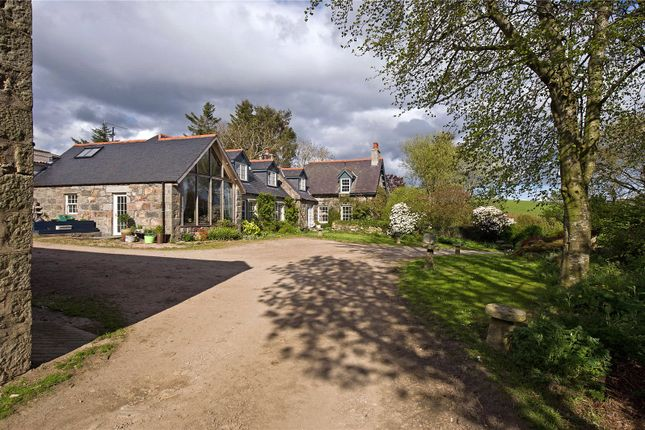 Thumbnail Detached house for sale in Whitehills Farm, Monymusk, Inverurie, Aberdeenshire