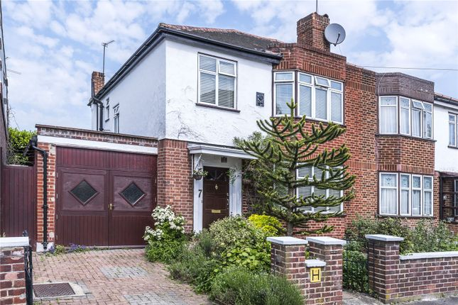 Thumbnail Semi-detached house for sale in Lexton Gardens, London