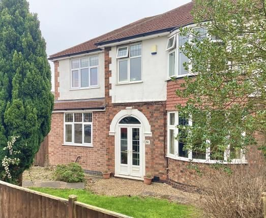 Thumbnail Semi-detached house for sale in Park Road, Birstall, Leicester, Leicestershire