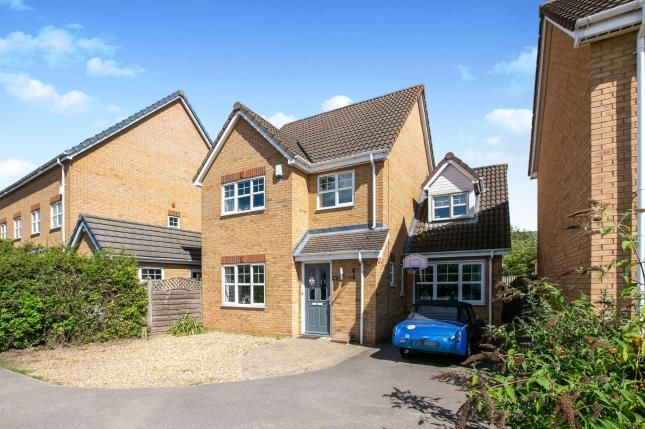 Thumbnail Detached house for sale in Station Close, Henlow, Beds, England