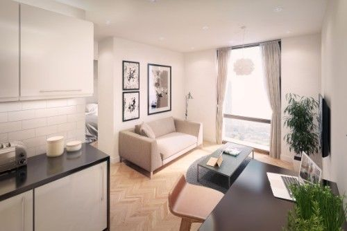 Property for sale in X1 The Campus Student Property Investment, Salford, M6 6NY