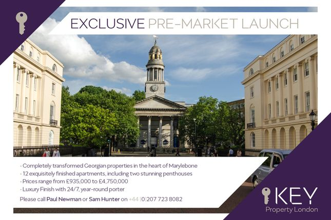 Thumbnail Flat for sale in Seymour Place, London