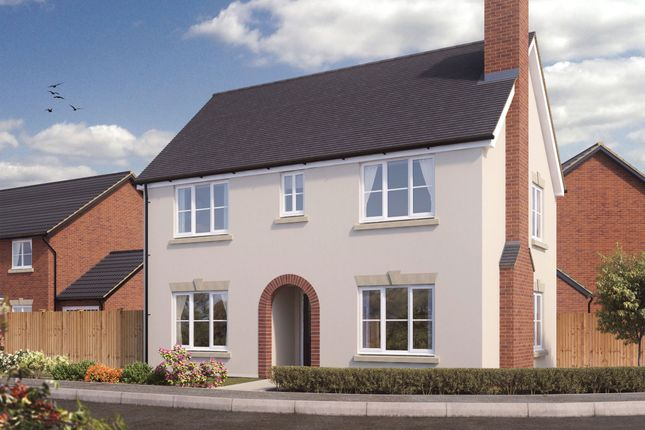 Thumbnail Detached house for sale in Eversley Road, Hellesdon
