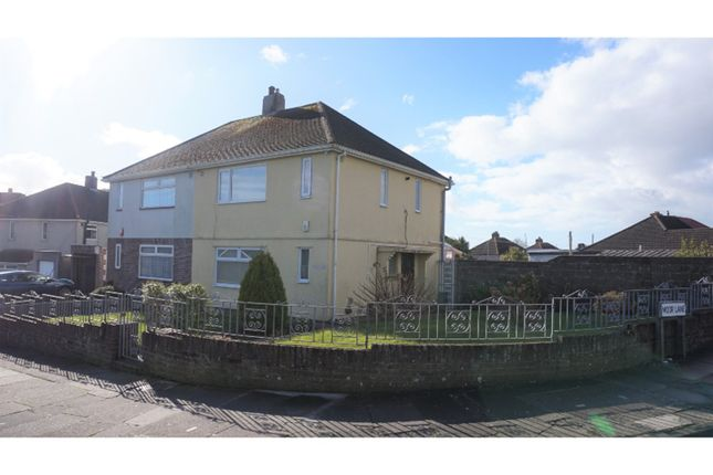 Thumbnail Semi-detached house for sale in Weston Mill Road, Plymouth