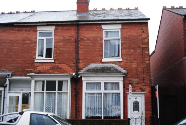 Thumbnail Terraced house to rent in Cornwall Road, Handsworth Wood