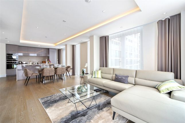 Thumbnail Flat for sale in Edward House, 2 Radnor Terrace, Kensington, London