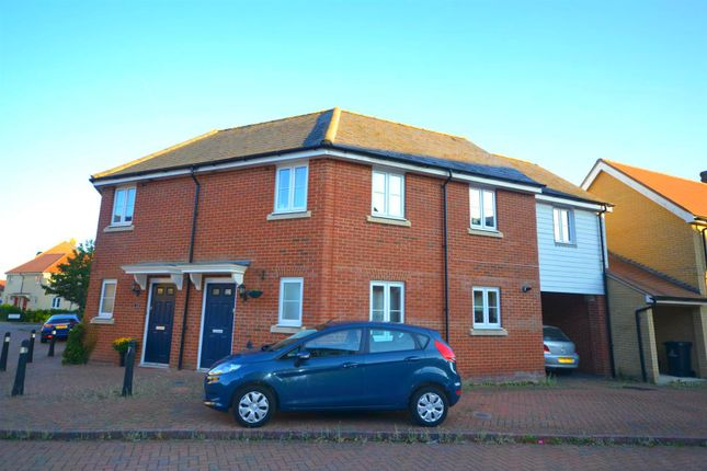 Thumbnail Semi-detached house for sale in Salamanca Way, Colchester