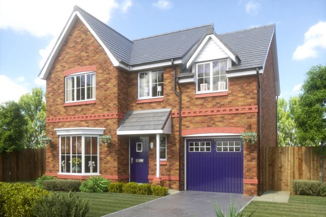 Thumbnail Detached house for sale in Rectory Lane, Wigan