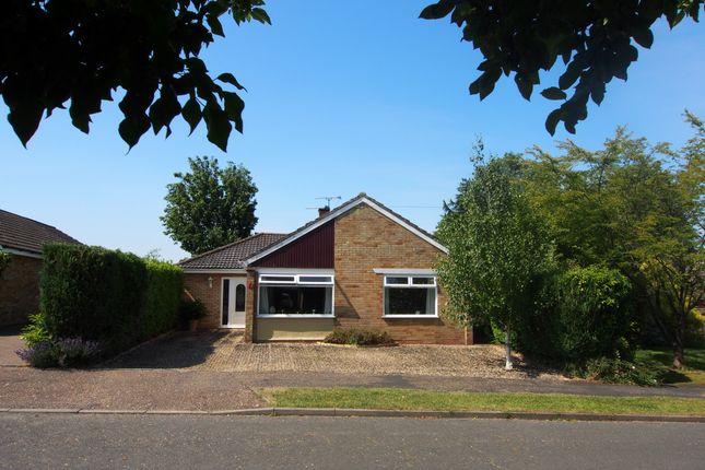 Thumbnail Detached bungalow to rent in Hillside, Barnham Broom, Norwich, Norfolk