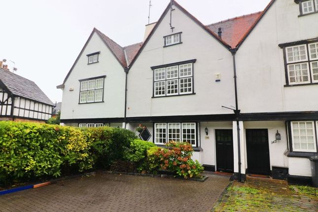 Thumbnail Terraced house for sale in The Green, Worsley, Manchester