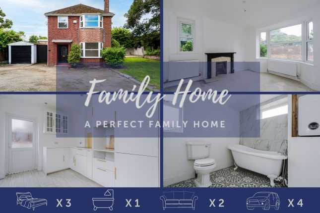 Thumbnail Detached house for sale in Heath Road, Widnes