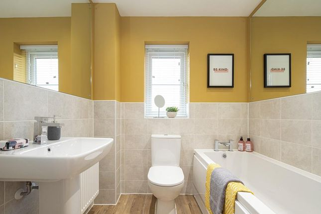 Family Bathroom Internal Image In The Maidstone Show Home At Birds Marsh View, Chippenham