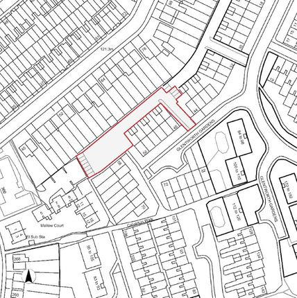 Thumbnail Land for sale in Glentworth Gardens, Wolverhampton