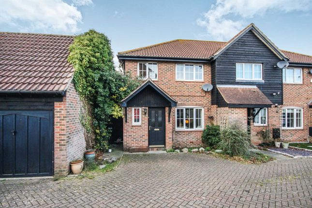 Thumbnail End terrace house for sale in Invicta Court, Billericay