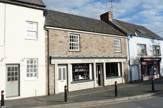 Thumbnail Flat to rent in Lion Street, Hay-On-Wye, Hereford