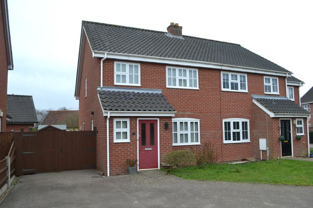 Thumbnail 3 bed end terrace house for sale in Wilderness Lane, Harleston