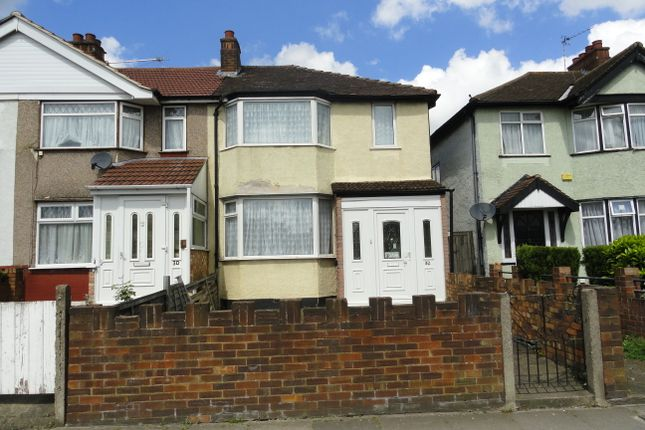 Thumbnail End terrace house for sale in Mandeville Road, Northolt