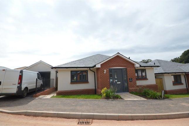 Thumbnail Detached bungalow for sale in Plot 3 Moonhill Copse, West Clyst, Exeter, Devon