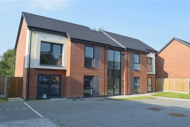 Thumbnail Flat for sale in Nightingale Gardens, Off Tittesworth Avenue, Leek