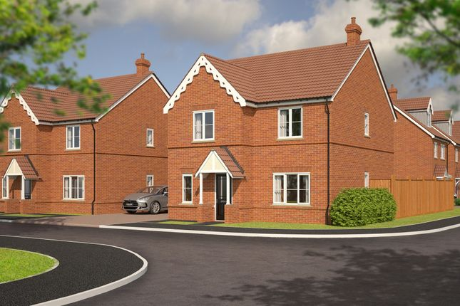 Thumbnail Detached house for sale in Farmers View, Slip End, Luton