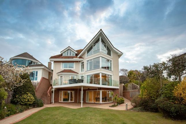 Thumbnail Detached house for sale in Dorset Lake Avenue, Lilliput, Poole