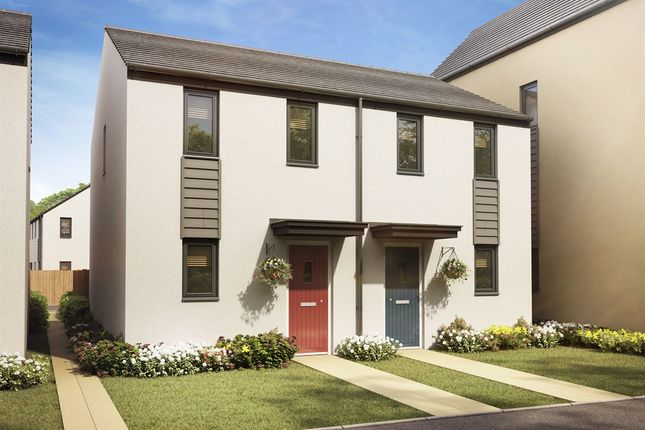 "Thumbnail End terrace house for sale in ""The Morden"" at Llantrisant Road, Capel Llanilltern, Cardiff"