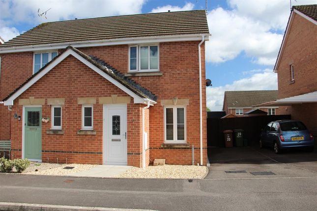 Thumbnail Semi-detached house to rent in Llanddwyn Island Close, Caerphilly