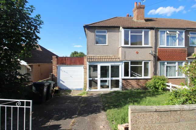 Thumbnail Semi-detached house for sale in Swaisland Road, Dartford, Kent