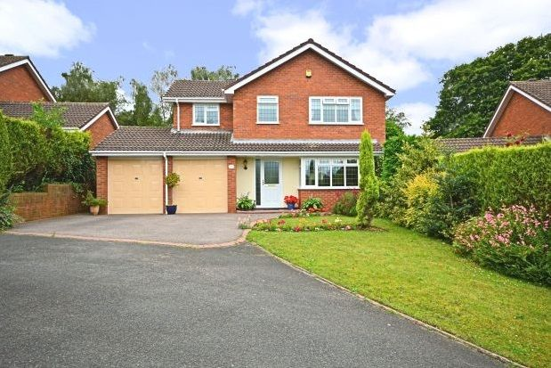 Thumbnail Detached house to rent in Trevithick Close, Burntwood