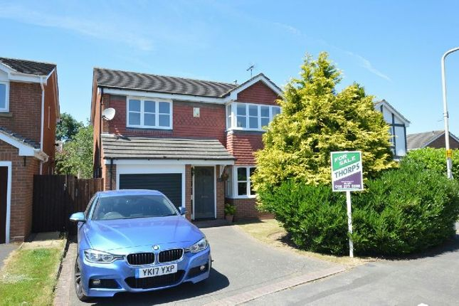 Thumbnail Detached house for sale in Needwood Way, Narborough, Leicester