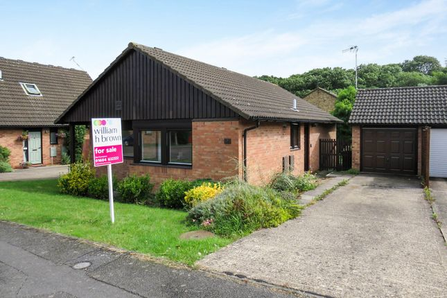 Thumbnail Detached bungalow for sale in Marlstones, West Hunsbury, Northampton