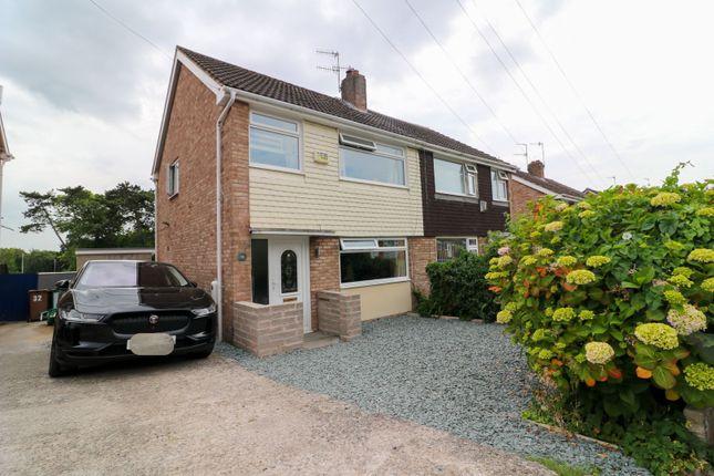 Thumbnail Semi-detached house for sale in Rossendale Close, Prenton