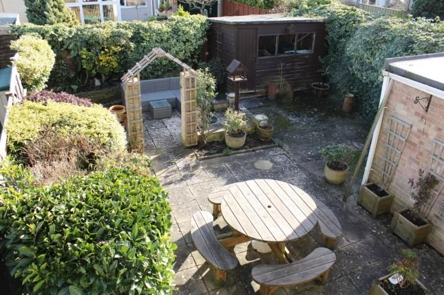 Rear Garden of St. Marks Road, Worle, Weston-Super-Mare BS22