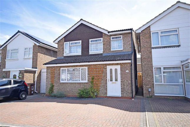 Thumbnail Detached house for sale in Obelisk Rise, Kingsthorpe, Northampton