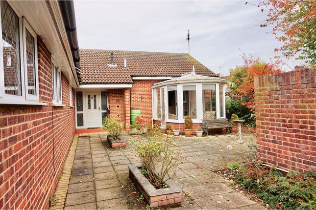 Thumbnail Detached bungalow for sale in Sayesbury Avenue, Sawbridgeworth