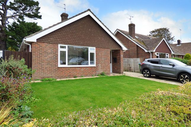 Thumbnail Detached bungalow for sale in Mill Road Avenue, Angmering, Littlehampton