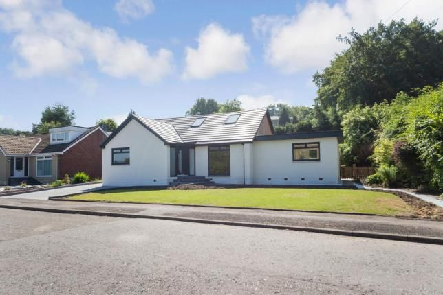 Thumbnail Bungalow for sale in Dykehead Road, Dullatur, Cumbernauld, North Lanarkshire