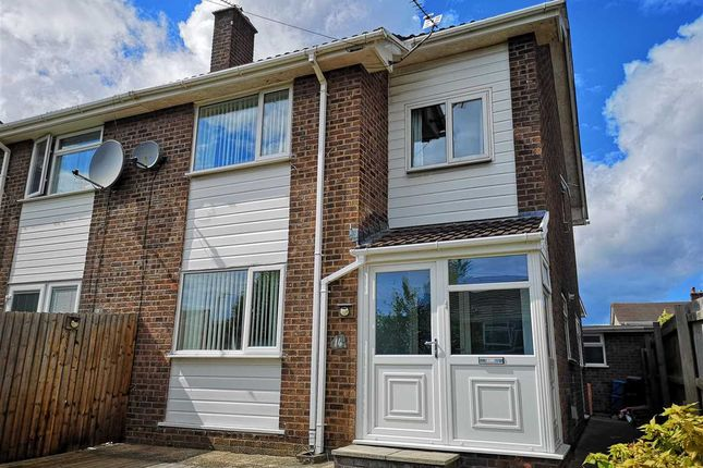 Thumbnail Semi-detached house to rent in St Davids Close, Bulwark, Chepstow