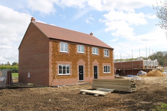 Thumbnail Semi-detached house for sale in Station Road, East Winch, King's Lynn