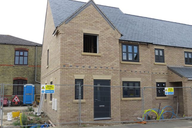 Thumbnail End terrace house for sale in Whytefield Road, Ramsey, Huntingdon