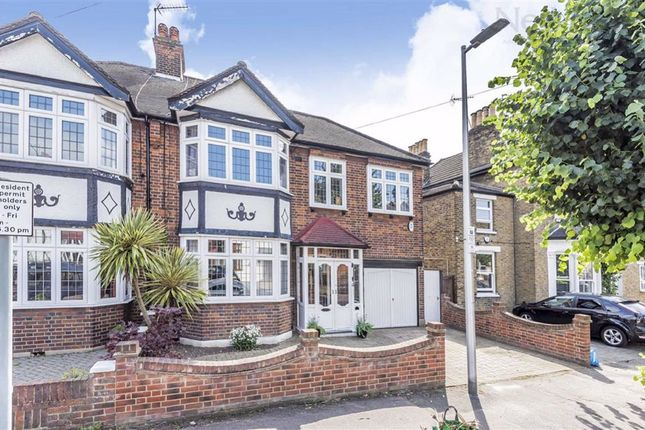 Thumbnail Semi-detached house for sale in Lansdowne Road, South Woodford, London