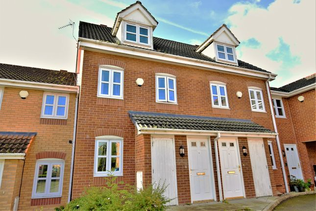 Thumbnail Town house for sale in College Fields, Wrexham