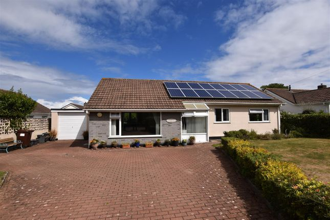 Thumbnail Detached bungalow for sale in Church Road, Mount Hawke, Truro