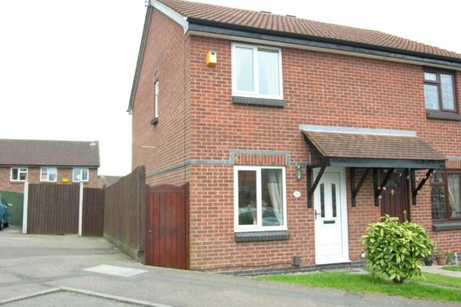 Thumbnail Semi-detached house to rent in Hayling Close, Shipley View, Ilkeston, Derbyshire