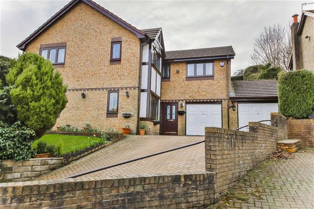 Thumbnail Detached house for sale in Thanet Lee Close, Cliviger, Lancashire