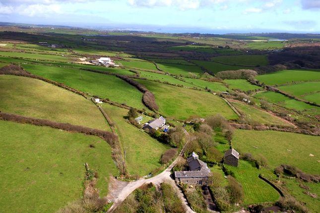 Thumbnail Detached bungalow for sale in Botrea, Newbridge, Penzance