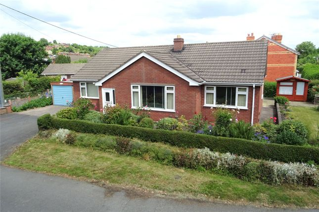 Thumbnail Bungalow for sale in Dolafon Road, Newtown, Powys